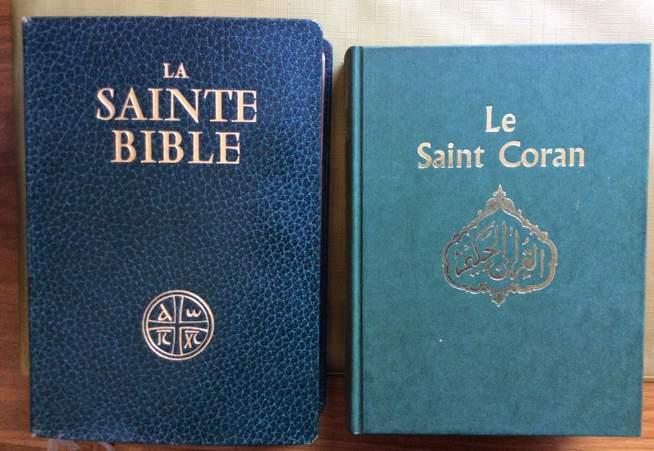 Lectures différentes de la Bible et du Coran