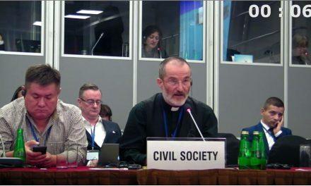 L'Abbé Pagès, la liberté d'expression à l'OSCE, 23.09.2014 a.m.