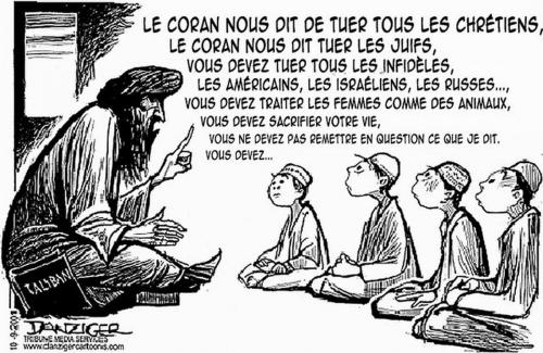 L'islam ou l'éducation à la haine