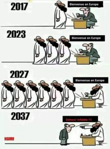 L'islamisation de l'Europe châtiment de son apostasie par l'abbé Pagès - Page 5 Bienvenue-Europe-et-dehors-221x300