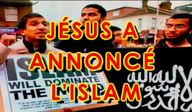 Jésus a annoncé l'islam