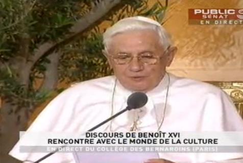 Benoît XVI : Ce que la civilisation doit à l'Eglise