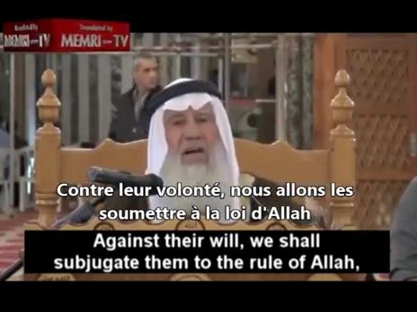 Un vrai musulman, sincère et cohérent.