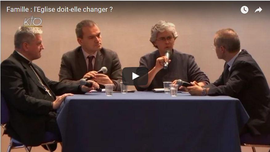 Débat entre Mgrs Aillet et Vesco sur le mariage à l'occasion du synode