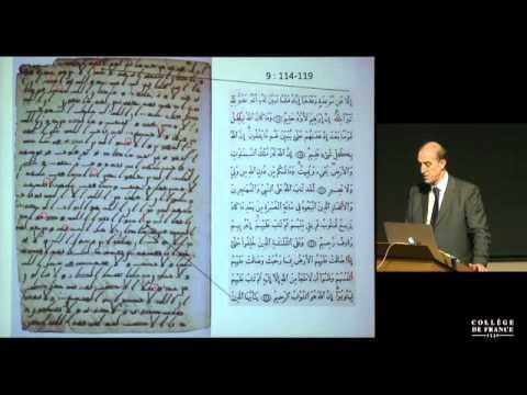 François Déroche: Histoire du Coran. Éditer le Coran