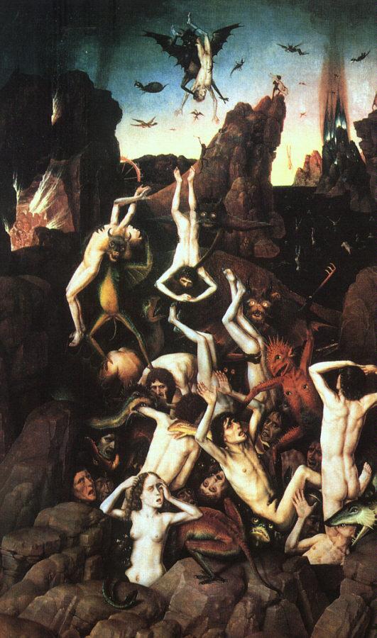 Curieux : les saints craignent d'aller en enfer mais les pécheurs ne ressentent pas une telle crainte…