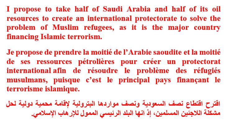 La générosité bien connue de l'islam…