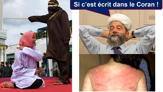 Le musulman est procureur, juge et bourreau de sa femme (Coran 4.34)