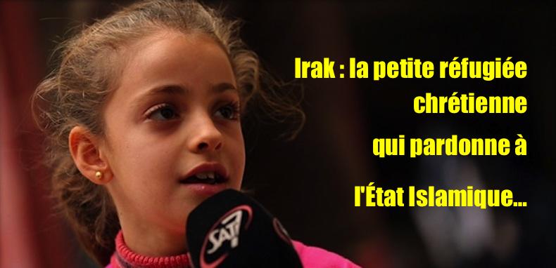 Une fillette montre la supériorité du christianisme sur l'islam