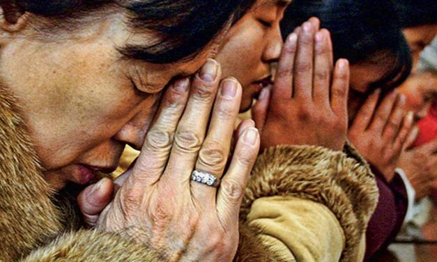 Chaîne de prière pour les chrétiens persécutés