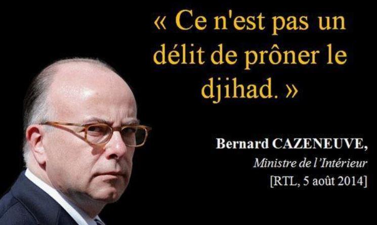 Bernard Cazeneuve islamise la France
