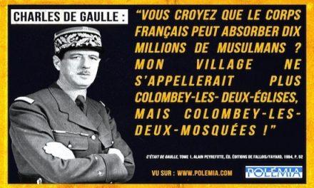 De Gaulle, la France et le racisme