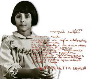 """Antonietta Meo """"Si vous ne redevenez pas comme les petits enfants… (Cf. Mt 18.3)"""""""