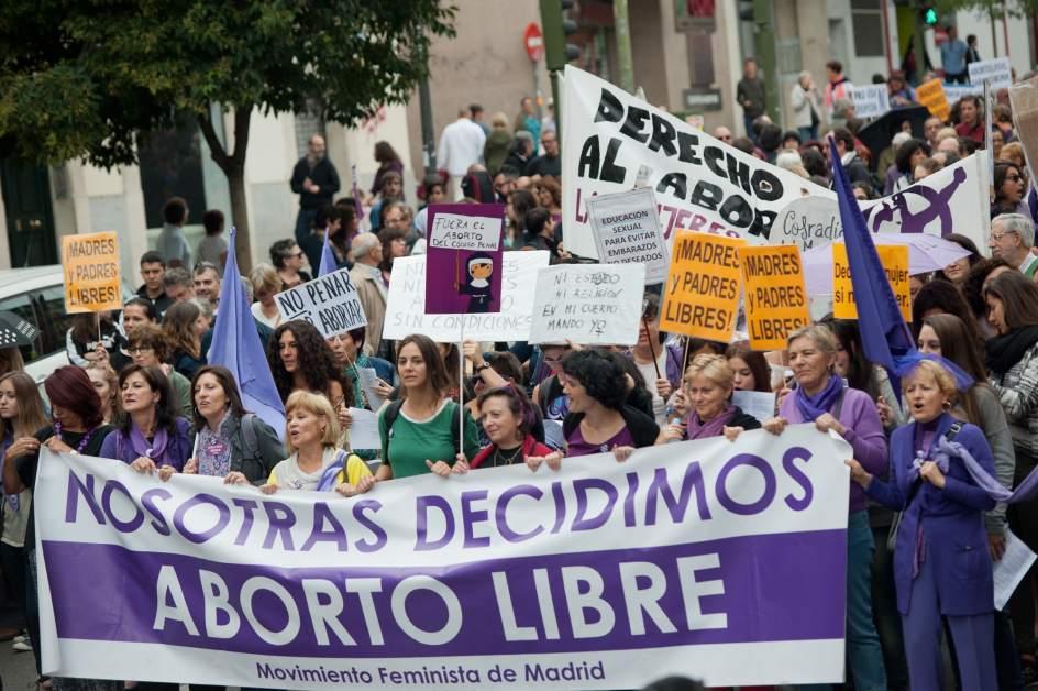 Le reportage sur l'avortement en Espagne