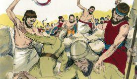 Les guerres saintes dans l'Ancienne Alliance