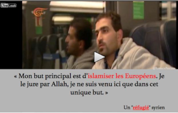 L'Europe importe son islamisation et elle est fière de son grand coeur !