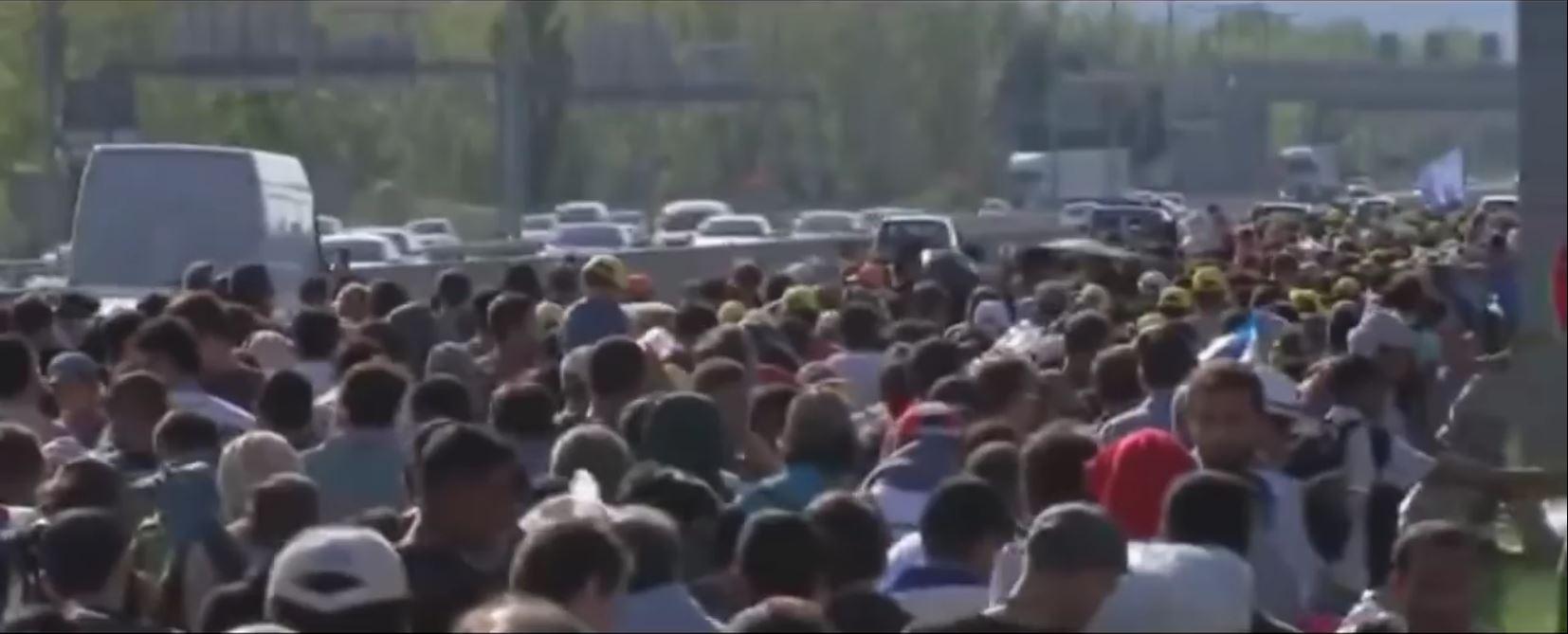 L'immigration en Europe…