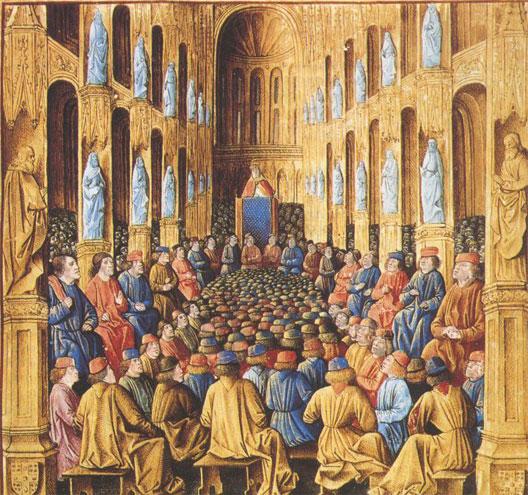 Homélie d'Urbain II à Clermont en 1095