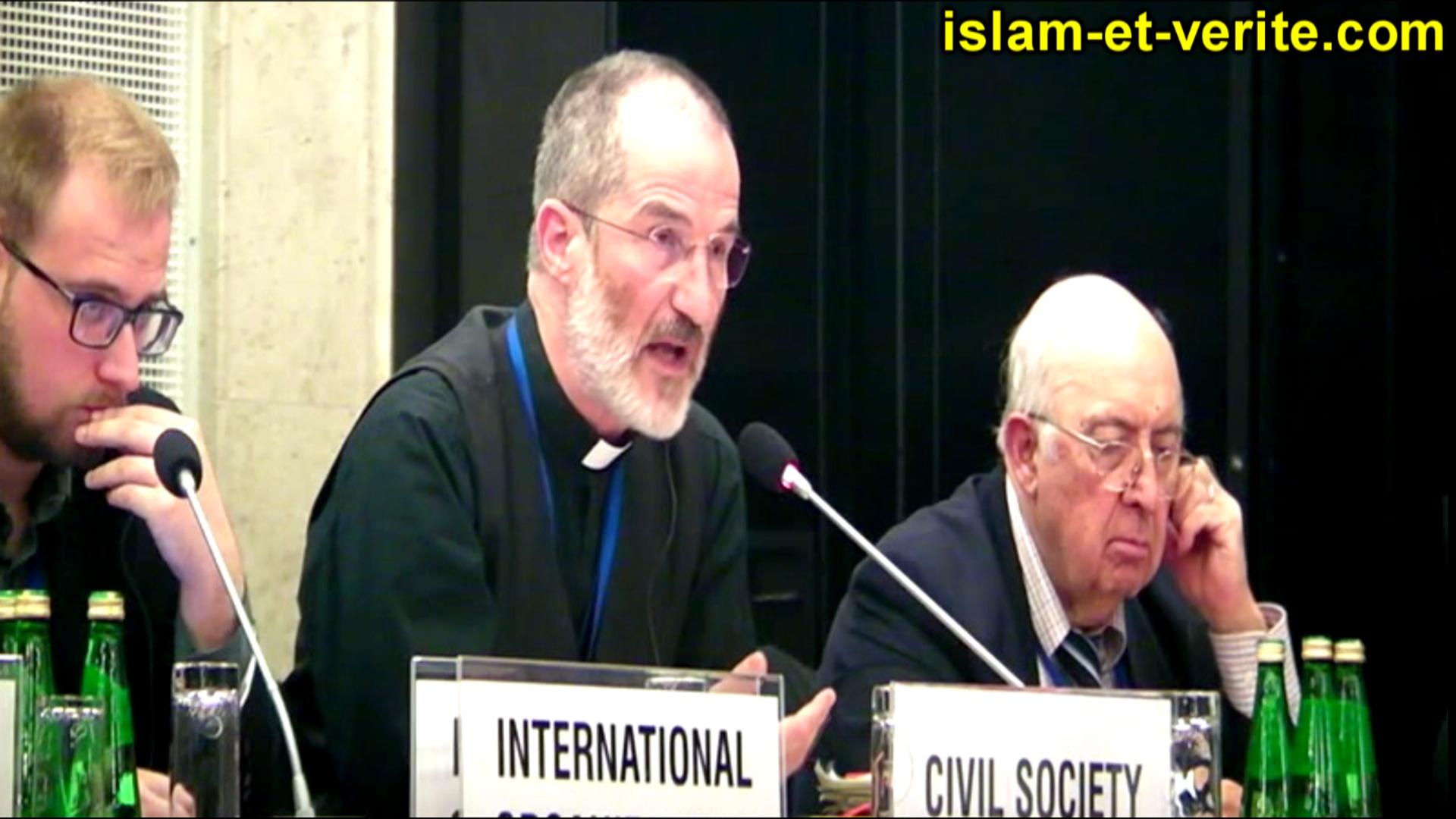 L'Abbé Pagès à l'OSCE le 27.09.16 p.m.