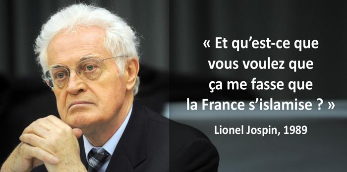 De l'islamisation de la France…
