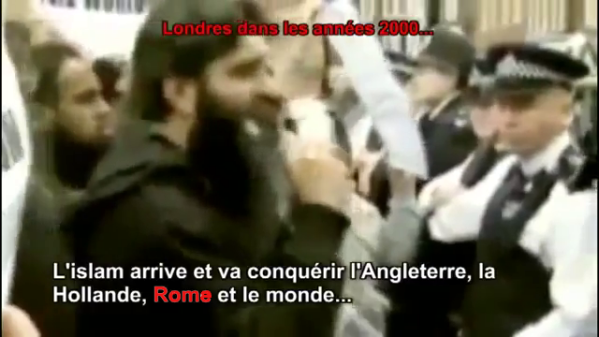 Reportage en caméra cachée en quelques mosquées d'Angleterre …