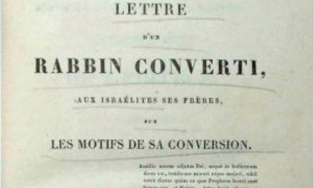 La conversion du Rabbin David Drach