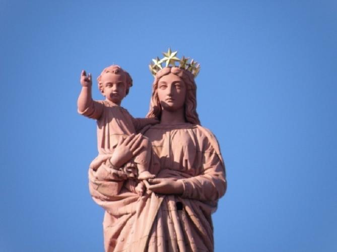 Prière pour la France à Notre Dame de France (Pie XII, 1941)