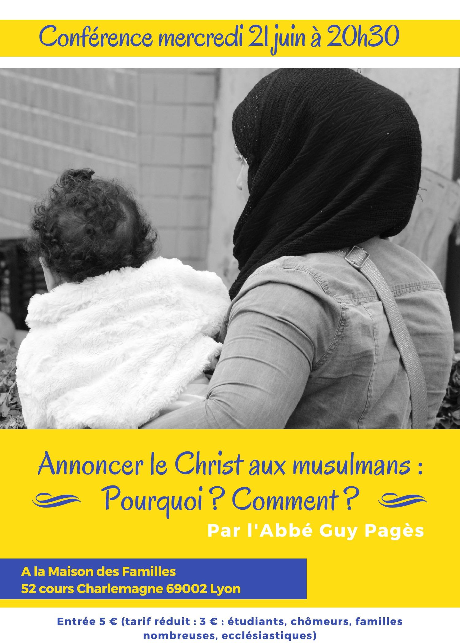 Conférence de l'Abbé Pagès à Lyon le 21.06.17