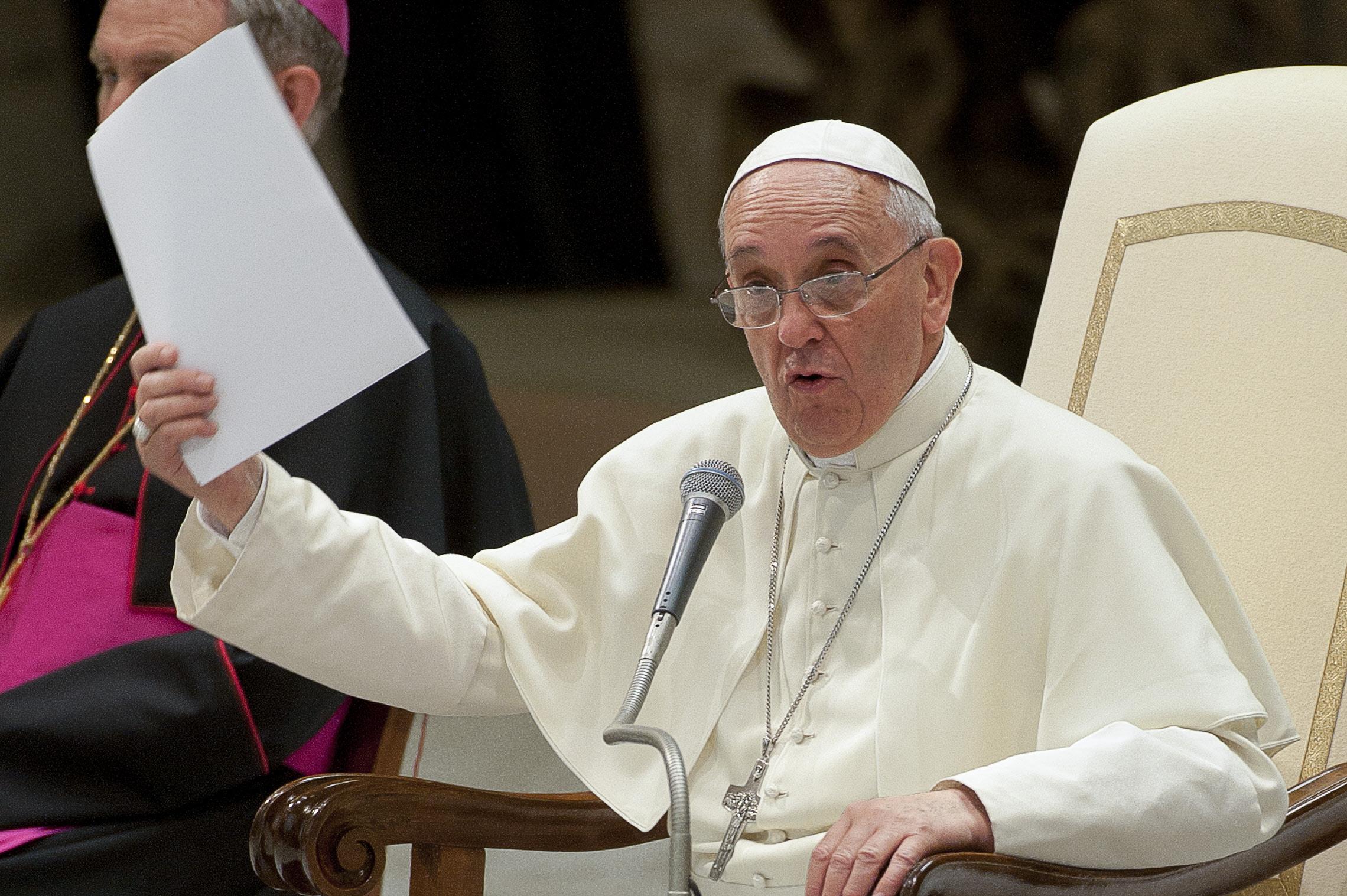 Une correction filiale adressée au Saint-Père
