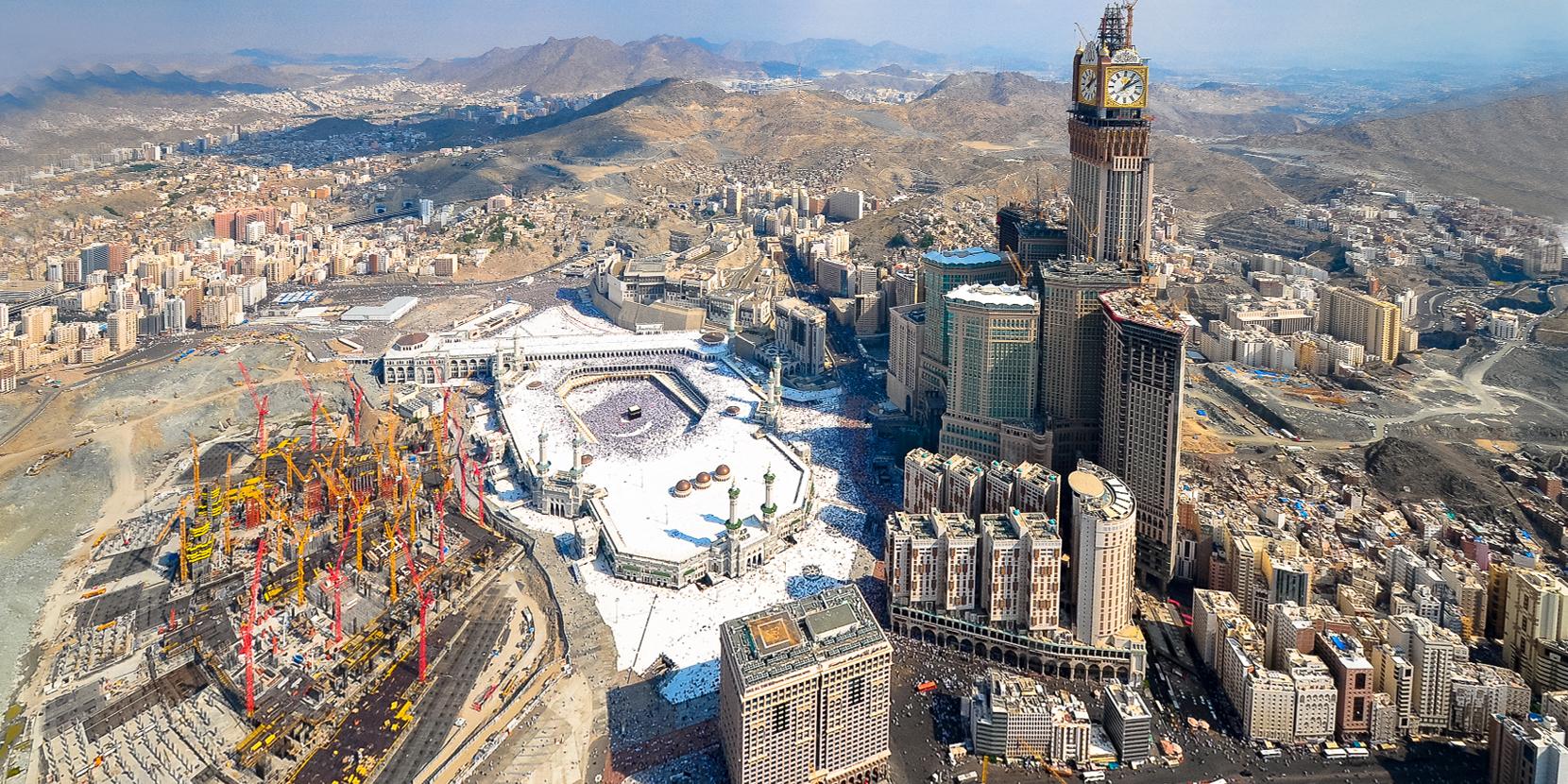 """Révélation au sujet de la Mecque, """"la Mère des cités (Coran 6.92)"""""""