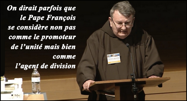 Nouvel appel du Père Weinandy au Pape : Avec cette fausse miséricorde, on détruit l'Eglise