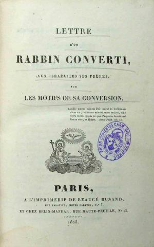 La conversion du Rabbin David Drach