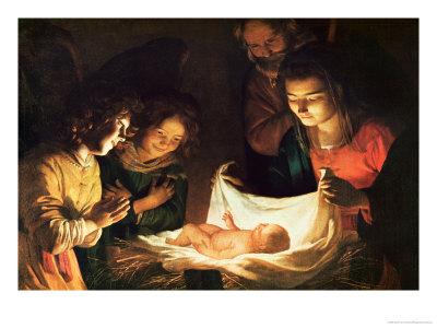 Homélie pour la Messe de l'Aurore du jour de Noël (C)