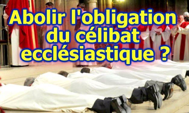 Abolir l'obligation du célibat ecclésiastique ?