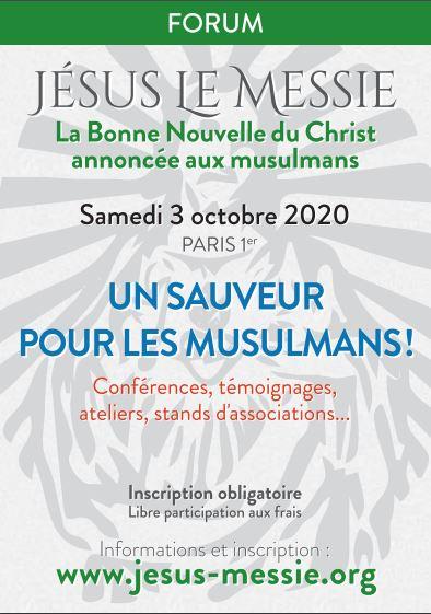 """Forum """"Jesus le Messie"""" à Paris le 3 octobre"""