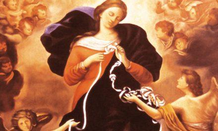 Neuvaine à Marie qui défait les nœuds