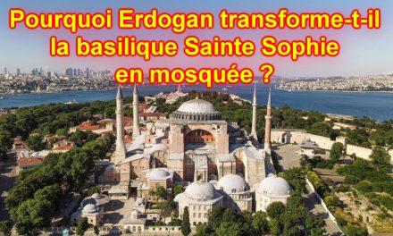 Que signifie que la basilique Sainte Sophie soit transformée en mosquée ?