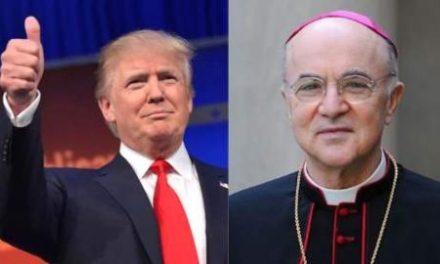Mgr Vigano écrit au Président Trump à propos du propos du plan global appelé le Great Reset