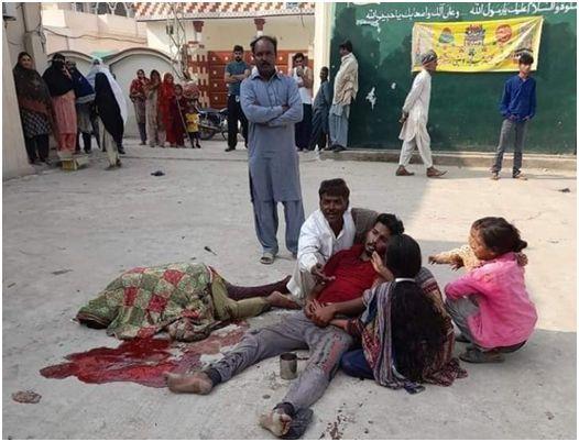 """Une mère et son fils, chrétiens, tués par des voisins musulmans, au Pakistan (""""Pays des Purs"""")"""