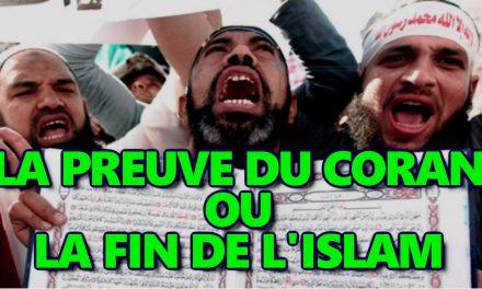 La preuve du Coran, ou la fin de l'islam