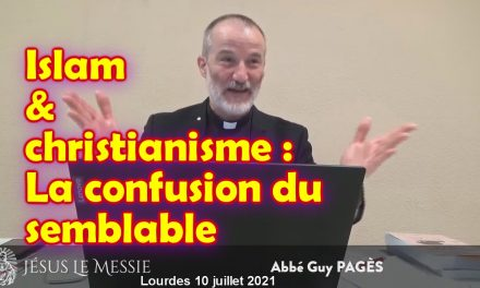 Christianisme / islam : la confusion du semblable