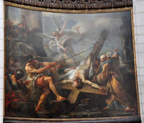 Collégiale saint Pierre à Douai XVIIIe