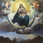 Marie sur la lune