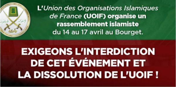L'UOIF, filiale des Frères musulmans,  reconnue organisation terroriste en Egypte...